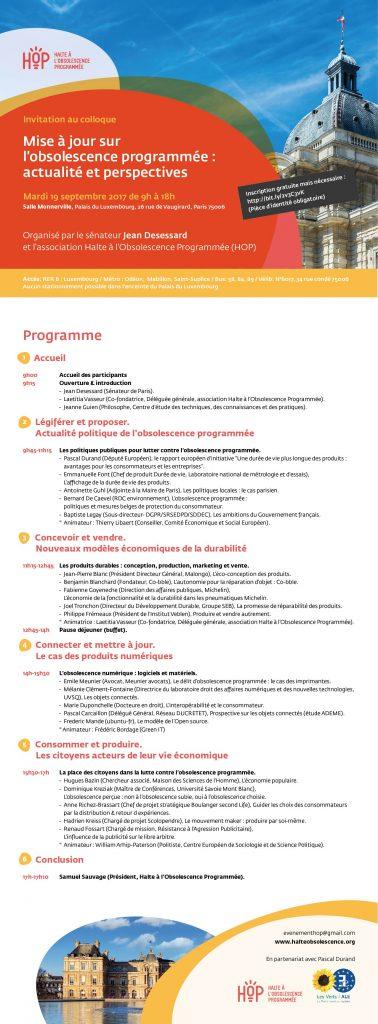 HOP, Programme
