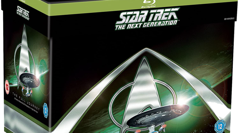 Coffret Star Trek The next Generation Full Journey UK