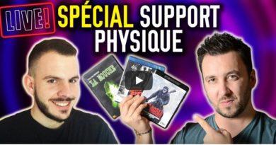 Les Gardiens du cinéma Live support physique