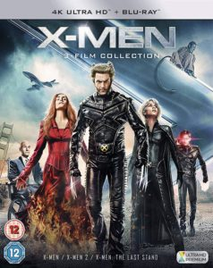 X Men Trilogy (Import) 4K
