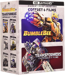Coffret Transformers 6 films 4K