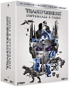 Coffret Intégrale Transformers 4K