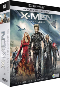 X Men la trologie 4K