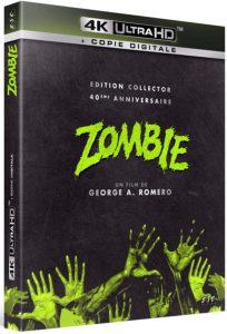 Zombie Ed. 40e anniversaire 4K