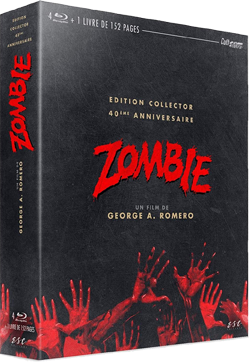 Zombie dawn of the dead coffret