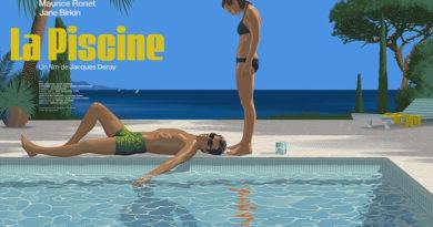 La piscine Affiche