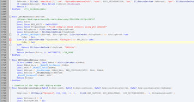 Developpement Disc Auto Scan