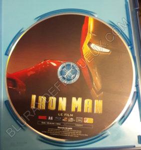 Iron Man nouveau pressage