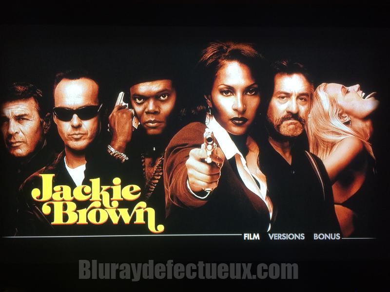 Menu Racine Jackie Brown