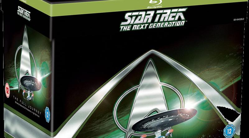Coffret Star Trek The next Generation Full Journey UK