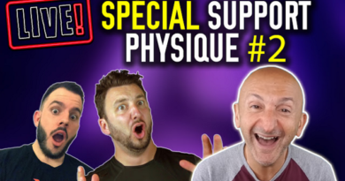 Live #2 support physique