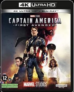 Captain America First Avenger 4K