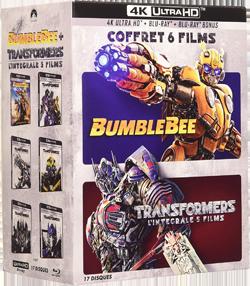 Coffret Transformers 6 films 4K