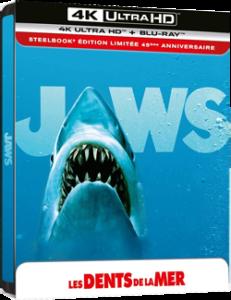 Les Dents de la mer Steelbook 4K