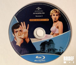 Psychose disque BD d'échange