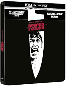 Psychose édition 60e anniversaire 4K+BD Steelbook