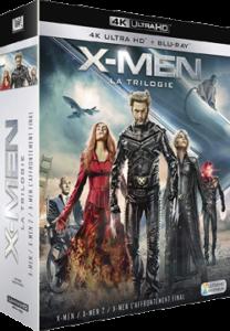 X Men la trologie 4K
