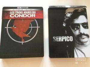 Serpico Les trois jours du condor UHD 4K