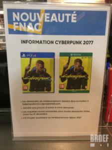 Cyberpunk 2077 FNAC