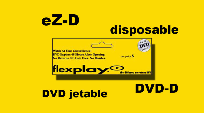 DVD Flexplay