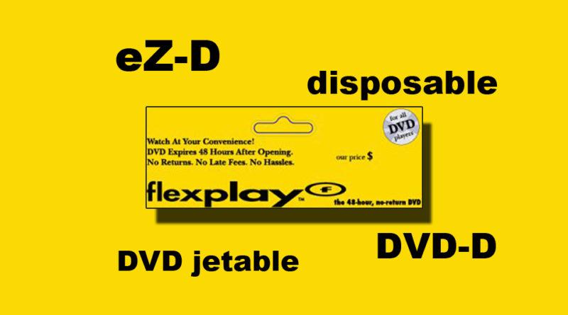 DVD Flexplay