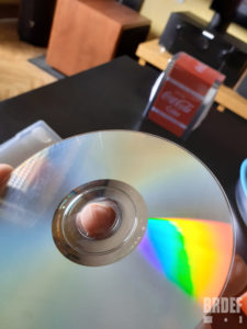 DVD rayures